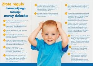 złote reguły rozwoju mowy dziecka