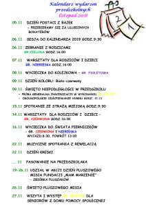 kalendarium LISTOPAD-1