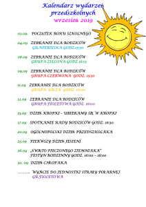 kalendarium wrzesień-1